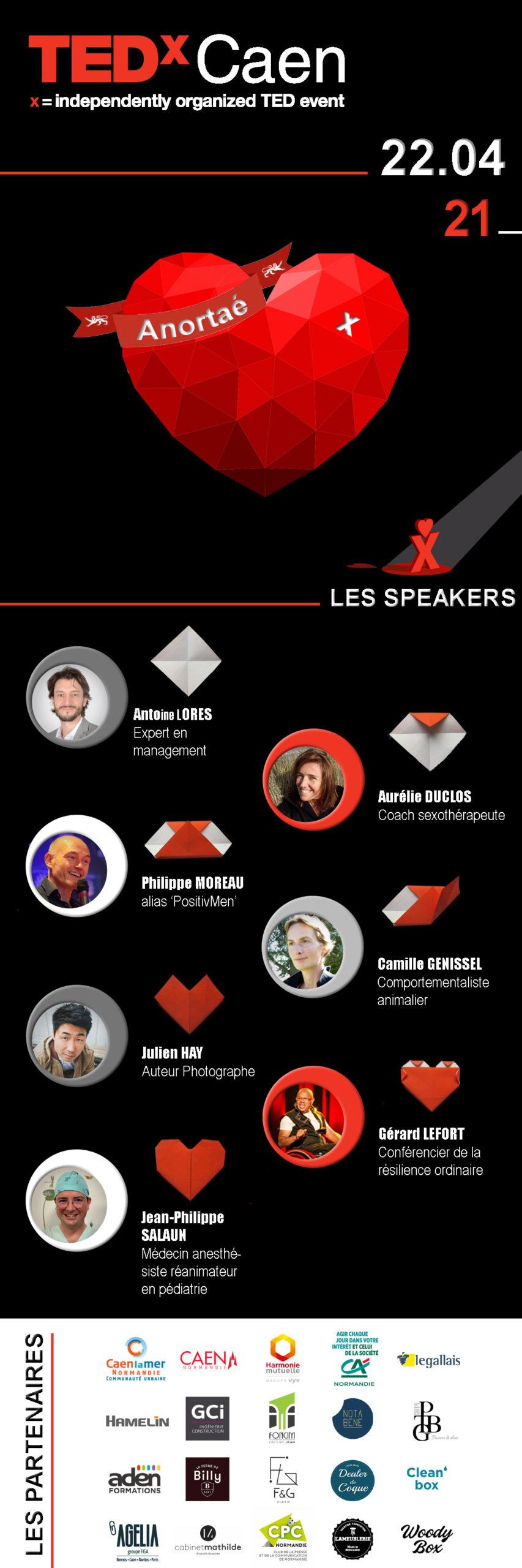 Programme Tedx Caen 2021